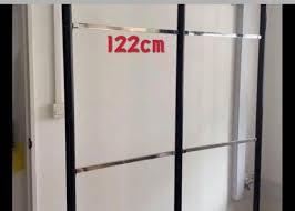 wall mounted clothes shelf rack