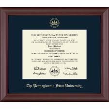 church hill cambridge penn state diploma frame