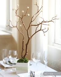 diy paper rose branch centerpieces