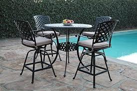 bar height patio set bar table sets