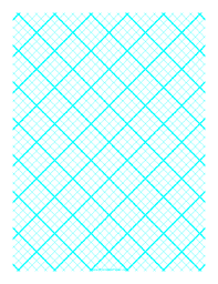 This graph paper for quilting has four diagonal lines every inch ... & Printable Graph Paper for Quilting with 4 Lines per inch and heavy index  lines Adamdwight.com