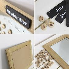 material tin and wood the date stone stone magnet plate wood