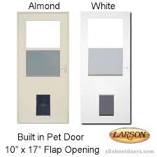 Larson Storm Door Size Chart Larson Built In Pet Door 10 X 17 Flap Opening Storm Door
