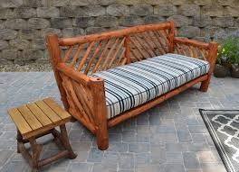 rustic wood patio furniture. Exellent Wood Rustic Outdoor Patio Furniture Set In Wood O