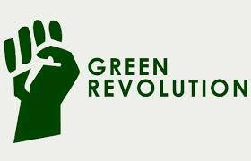 भारत में हरित क्रान्ति हरे पर हावी  green revolution