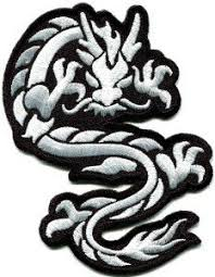 Amazon Com Chinese Dragon Kung Fu Martial Arts Tattoo Applique Iron