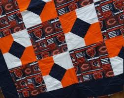 8 best Chicago bears quilt images on Pinterest | Amish quilts ... & One Handmade Philadelphia Flyers Quilt. Philadelphia FlyersTo ShipHand  StitchingChicago Bears Adamdwight.com