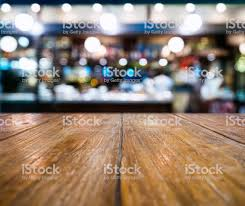 restaurant table top lighting. Table Top Counter Blur Bar Restaurant Pub Lighting Decoration Background Royalty-free Stock Photo