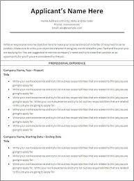 How To Make A Resume On Microsoft Word 2010 How To Open Resume Template Microsoft Word 2010 Work Resume Template