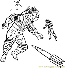 Small Picture Space Alien Coloring Page 05 Coloring Page Free Space Aliens