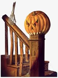 house stairs clipart. Unique House Haunted House Stairs Halloween Terror Startle PNG Image And Clipart Throughout House Stairs N