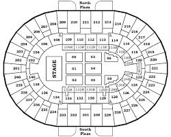 Molson Amphitheatre Detailed Seating Chart North Charleston Coliseum Virtual Seating Chart