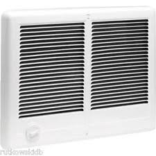 thermador wall heater. cadet com-pak twin built-in electric white wall heater 240v 4000-watt thermador