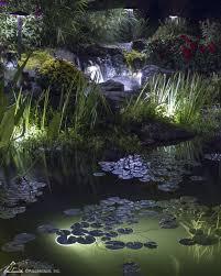 Aquascape Color Changing Lights Led Lights Lighting Pond Landscaping Pond Lights