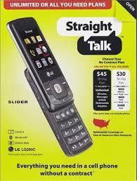 No contract $30 $45 Straight Talk wireless plans storm Walmart