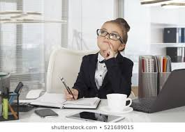 Kids Office Computer Stock Photos Images Photography