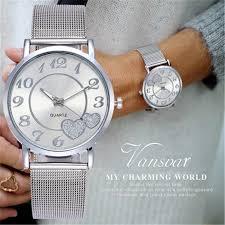 DISU Luxury <b>Women Wristwatch</b> Stainless Steel Analog <b>Quartz</b> ...