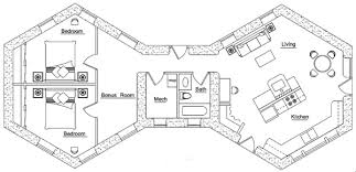 House Plan Castle Blueprints Floor Plans Layout Best Buildings Hexagon House Plans