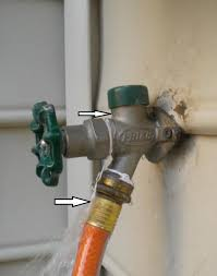 exterior water spigot repair. water leaking into basement from outdoor faucet doityourselfcom exterior spigot repair