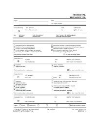 Transmittal Form Template Excel Contra On Sample Choice Image