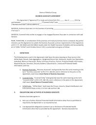 Sample Business Associate Agreement Baa Arkansas Mutual Medical