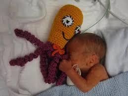 Crochet Octopus Pattern Custom Octopus For A Preemie Ośmiorniczka Dla Wcześniaka My Nomad Home