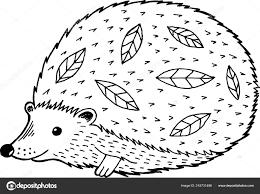 Cartoon Egel Pagina Kleurplaten Voor Volwassenen Kinderen