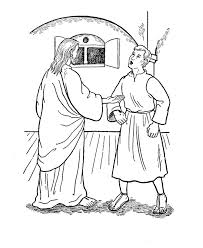 Small Picture St Thomas the Apostle Doubting Thomas Catholic Coloring Page