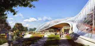 Google Architecture Design See Big Heatherwicks Design For Googles California Headquarters