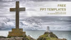 Catholic Cross Religion Ppt Templates