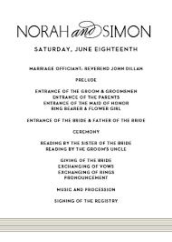 Wedding Program Designs Wedding Programs Match Your Colors Style Free Basic Invite