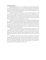 scary narrative essay oglasico sample narrative essay