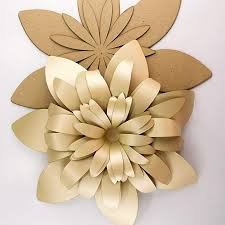 Made Flower With Paper Amazon Com Paper Flower Template Kit Pattern Diy Make Your