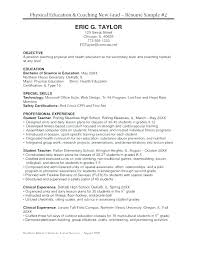 Sample Coaching Resume Cover Letter Football Coaching Resume