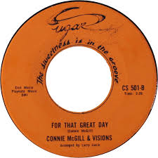45cat - Connie McGill And Visions - I Can't Stop My Love / For ...