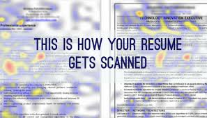 An Eye Tracking Study among Recruiters: How to pass the initial Resume  Screening | Dirk Eekman | Pulse | LinkedIn