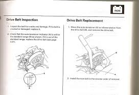 replacing the drive belt easy or hard acurazine acura replacing the drive belt easy or hard