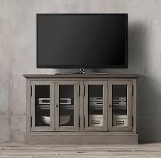 grey media console. Contemporary Grey In Grey Media Console