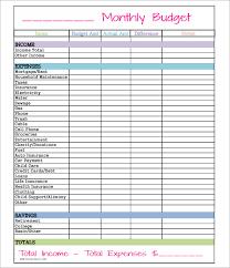 Free Home Budget Worksheet Free Home Budget Worksheet Download Samplebusinessresume