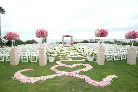 rose petal aisle runner diy silk rose petal aisle runner