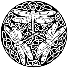 Small Picture dragonfly mandala coloring pages Coloring Outside the Lines