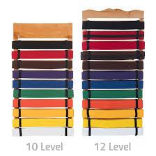 Martial Arts Belt Display Level 10 12 49 99