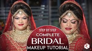 indian wedding makeup tutorial step by step plete bridal makeup tutorial krushhh by konica