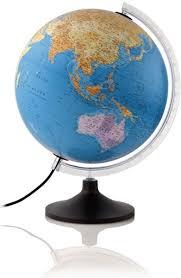 Bolcom Atmosphere Globe Solid Line 30cm Nederlandstalig