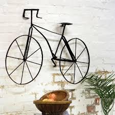 industrial metal bicycle wall art on metal bike wall art with industrial metal bicycle wall art andrews living arts homemade