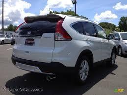 2012 Honda CR-V EX-L 4WD in White Diamond Pearl photo #5 - 028692 ...