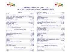 17 Best Carb Counting Images Counting Carbs Carb Counting
