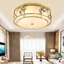 simple new chinese bedroom ceiling lamp