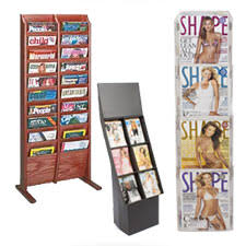 Magazine Holder Cardboard Magazine Racks for Sale Periodical Display Stands Holders 61