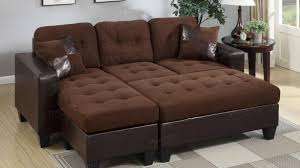 furniture odd sectional sofas with ottoman brown leather sofa and steal a furniture of sectional